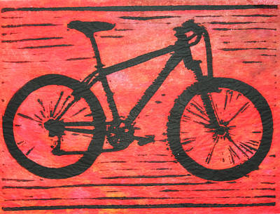 Bike 10 Print by William Cauthern