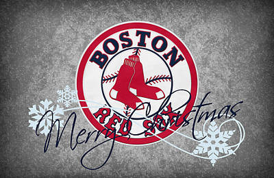 Boston Red Sox Print by Joe Hamilton