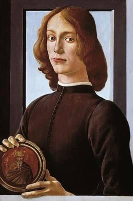 Oil Portrait Photograph - Botticelli, Alessandro Di Mariano Dei by Everett