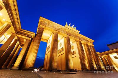 Columns Photograph - Brandenburg Gate Berlin Germany by Michal Bednarek