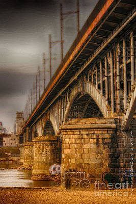 Bridge Print by Jacek Niewiadomski
