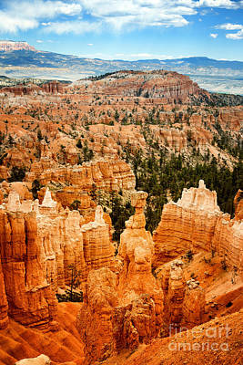 Bryce Canyon Print by Jane Rix