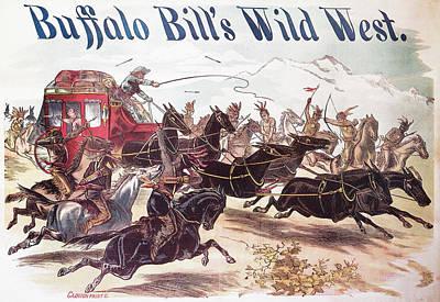 Manifest Destiny Painting - Buffalo Bill Poster, 1893 by Granger