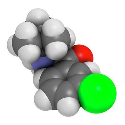 Antidepressant Photograph - Bupropion Antidepressant Drug by Molekuul