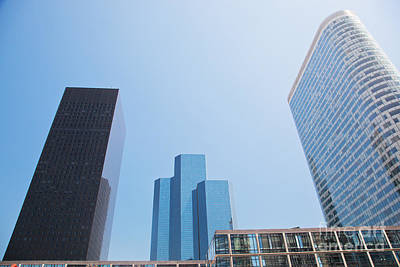 Business Skyscrapers. Print by Michal Bednarek