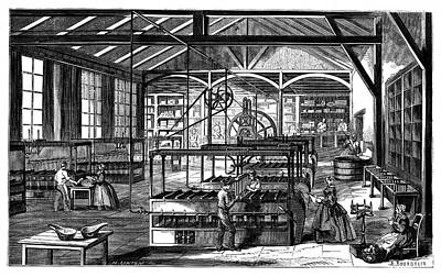 Factory Photograph - Candle Factory by Science Photo Library