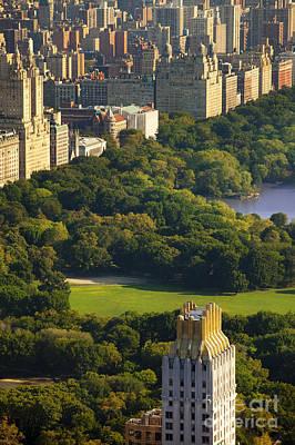 Central Park Print by Brian Jannsen