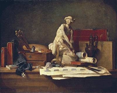 Chardin, Jean Baptiste Sim�on Print by Everett