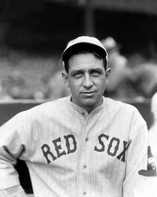 Red Sox Photograph - Charles F. Charlie Berry by Retro Images Archive