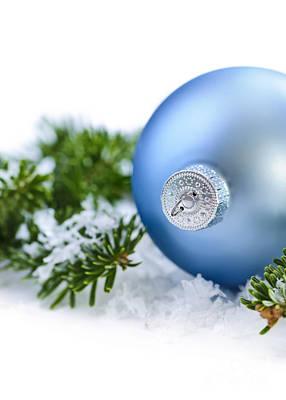 Christmas Ornament Print by Elena Elisseeva