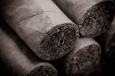 Cigars Print by Brandon Bourdages