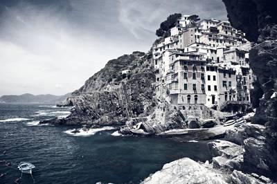 Cinque-terra Waterfront Print by Mountain Dreams
