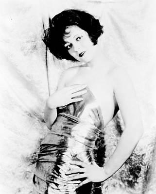 Clara Photograph - Clara Bow by Silver Screen