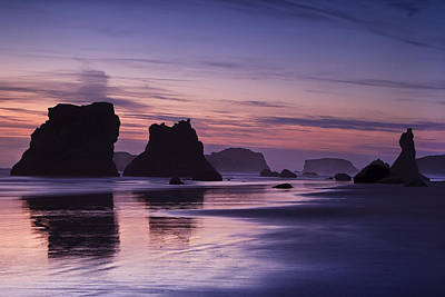 Coastal Reflections Print by Andrew Soundarajan