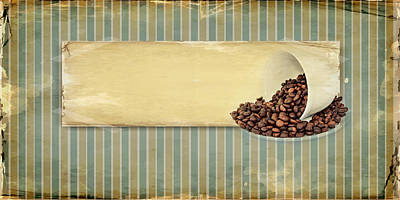 Coffee Time Print by Heike Hultsch