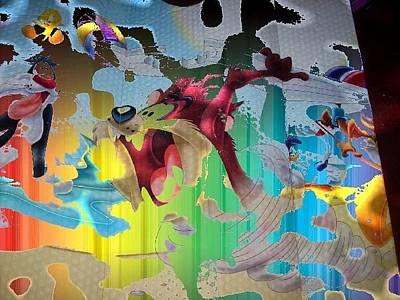 Etc. Digital Art - Colors by HollyWood Creation By linda zanini