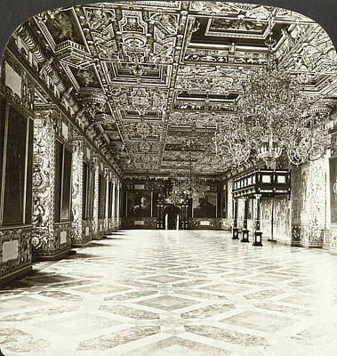 Knights Castle Painting - Copenhagen Royal Palace by Granger