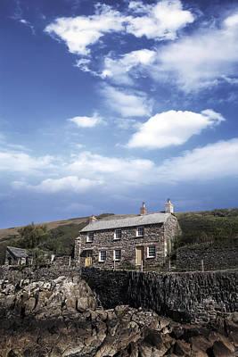 Cornish Cottage Print by Joana Kruse