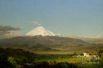 American Eagle Painting - Cotopaxi by Celestial Images