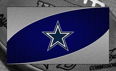 Dallas Cowboys Print by Joe Hamilton