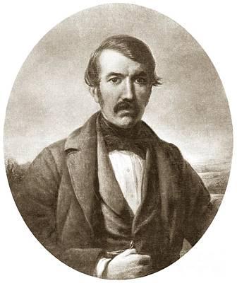 David Livingstone, Scottish Explorer Print by Sheila Terry