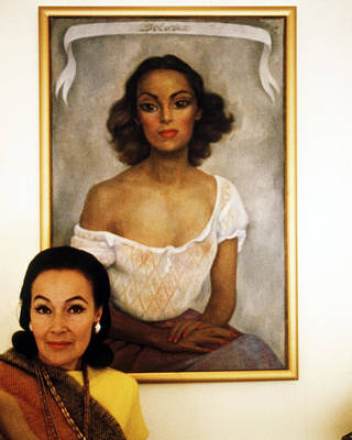 Dolores Del Rio Print by Silver Screen