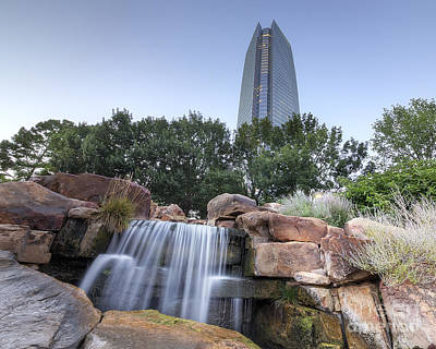 Arboretum Photograph - Downtown Oklahoma City by Twenty Two North Photography