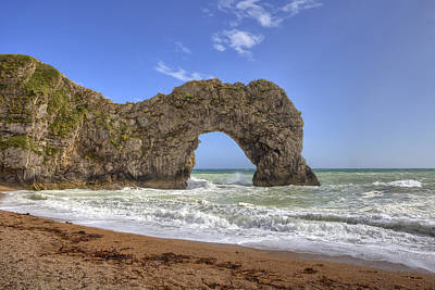 Durdle Door Print by Joana Kruse
