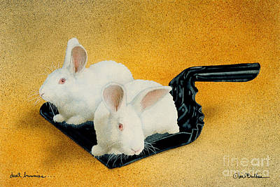 Dust Painting - Dust Bunnies... by Will Bullas