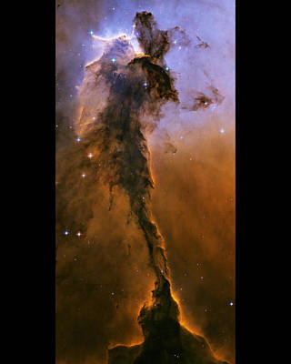 Stellar Painting - Eagle Nebula by Nasa