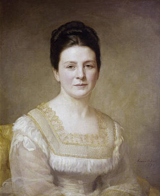 1880s Painting - Edith K by Granger
