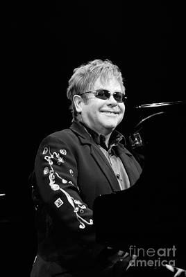 Music Artist Photograph - Elton John by Jenny Potter