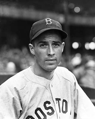 Red Sox Photograph - Emerson Dickman by Retro Images Archive