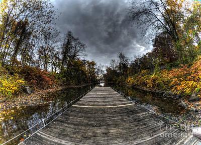 Williams Dam Photograph - Empty Dock by Mark Ayzenberg