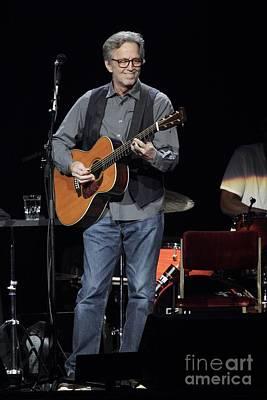 Eric Clapton Photograph - Eric Clapton by Front Row  Photographs