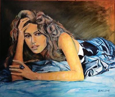 Dagmar Painting - Temptation by Dagmar Helbig