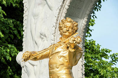 Begonias Photograph - Europe, Austria, Vienna, Stadtpark by Jim Engelbrecht