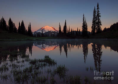 First Light Print by Mike  Dawson