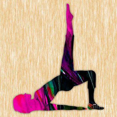 Yoga Mixed Media - Fitness Yoga by Marvin Blaine