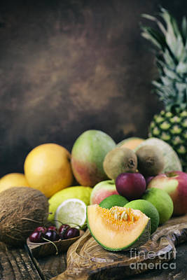 Fruit Variety Print by Mythja  Photography