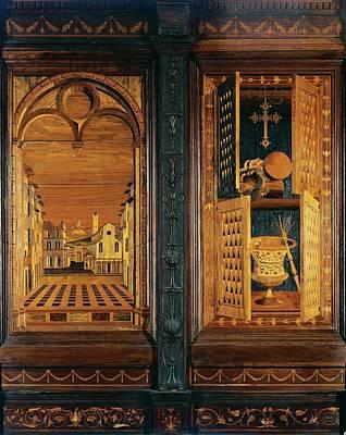 Intarsia Photograph - Giocondo Da Verona Giovanni Fra, Inlaid by Everett