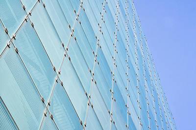 Glass Building Print by Tom Gowanlock