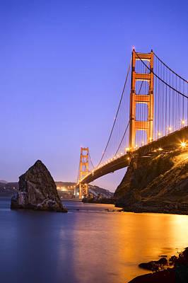 Of Big Sur Beach Photograph - Golden Gate Bridge by Emmanuel Panagiotakis