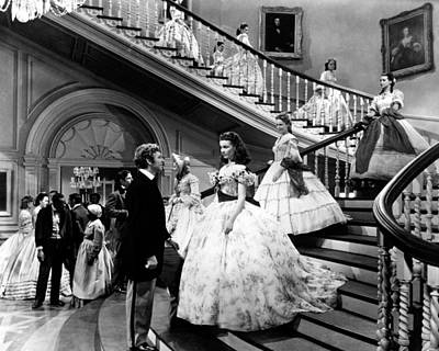 Movies Photograph - Gone With The Wind  by Silver Screen