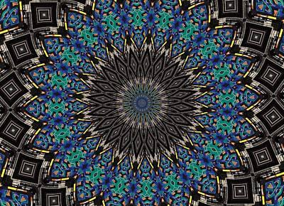 Graffiti - Galaxee Kaleidoscope Print by Graffiti Girl
