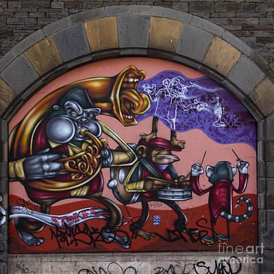 Urban Art Photograph - Graffiti House by Brian Roscorla
