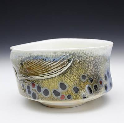 Ceramic Art - Hada Xi by Mark Chuck