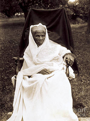 Tubman Photograph - Harriet Tubman, American Abolitionist by Photo Researchers