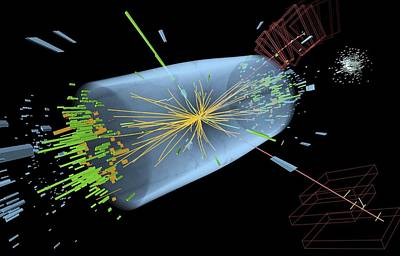 Higgs Boson Research, Cms Detector Print by Science Photo Library