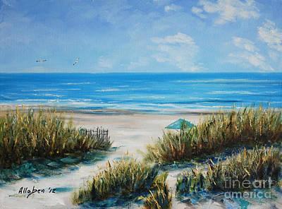 Hilton Head Beach Print by Stanton Allaben